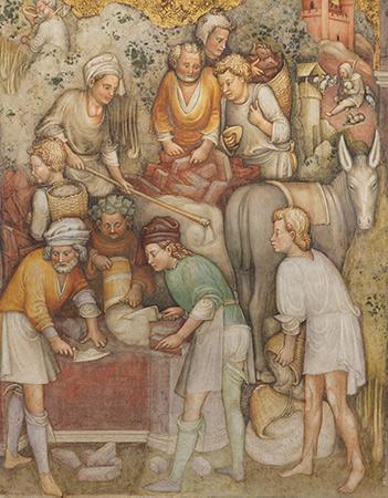Fondazione del primo nucleo del Fondazione Duomo di Monza (Cappella di Teodolinda)